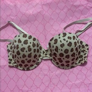 BP Undercover Lou Lou Multi-way Cheetah bra 32b